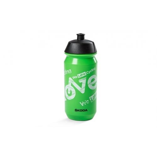SKODA jalgratta joogipudel (roheline 0,5L)