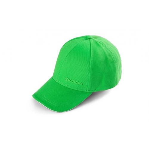 SKODA pesapallimüts, roheline