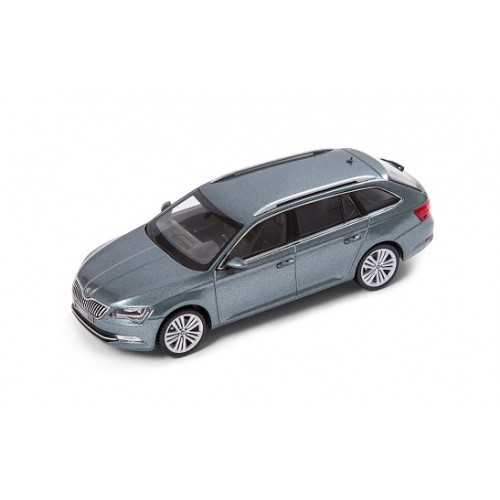 SKODA mudel Superb Combi 1:43 (Metal Grey)