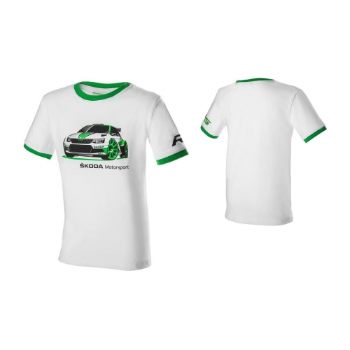 """SKODA T-särk """"Motorsport"""" lastele 98-104"""