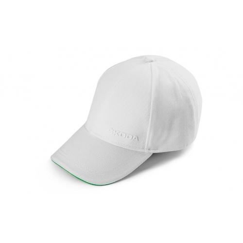 SKODA pesapallimüts, valge
