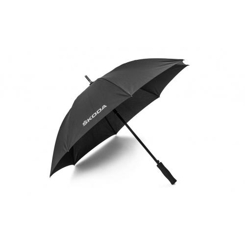 SKODA vihmavari, must