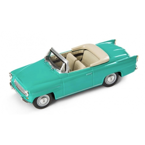 SKODA mudel Felicia roadster 1:43 (türkiis)