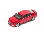 SKODA mudel Superb 1:43 (corrida red)