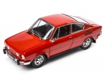 SKODA mudel 110R 1:18 (red Racing)