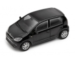 SKODA mudel Citigo 1:43 (deep black)