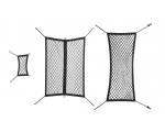 PAGASIRUUMI VÕRKUDE KMPL. 3võrku (7 istet), must