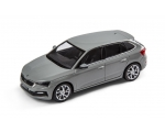 SKODA mudel Scala 1:43 (steel grey)