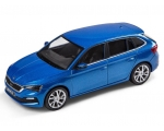 SKODA mudel Scala 1:43 (race blue)