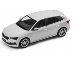SKODA mudel Scala 1:43 (moon white)