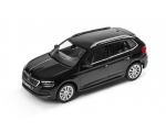SKODA mudel Kamiq 1:43 (magic black)