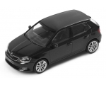 SKODA mudel Fabia 1:43 (magic black metallic)