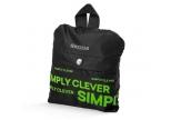 "SKODA ostukott ""Simply Clever"" must, rohelise kirjaga"